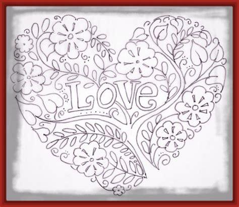 imagenes goticas romanticas para dibujar dibujos de corazones romanticos para colorear archivos