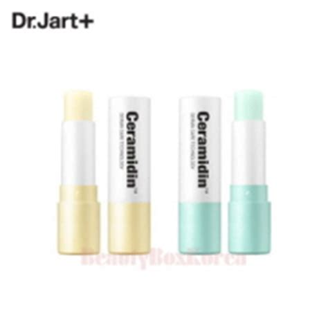 Dr Jart Ceramidin Lip Balm box korea sooryehan yeon silk lip balm hanhyojoo