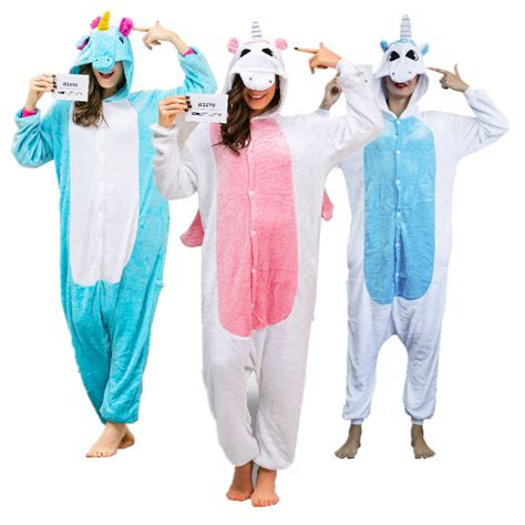 Set Piyama Unicorn aliexpress buy onesies for adults unicorn onesie costumes pijama unicornio