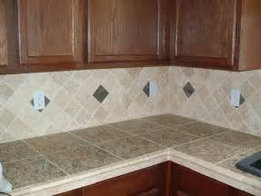 Kitchen Countertop Tile Design Ideas Tile Countertop Home Christmas Decoration