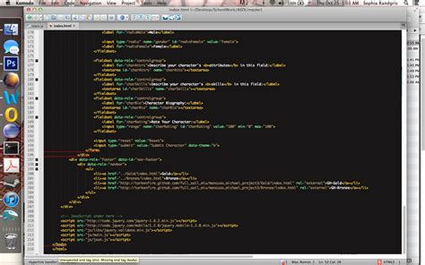 html div syntax html5 editor giving quot end tag quot syntax error