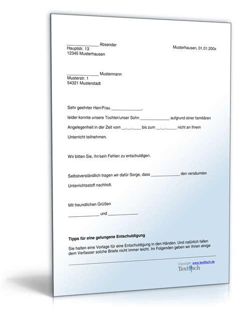 Vorlage Wohnungskündigung Im Todesfall Entschuldigung Schule Famili 228 Re Angelegenheiten Muster Zum