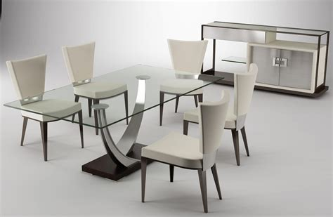 glass dining room table sets amazing modern stylish dining room table set designs elite