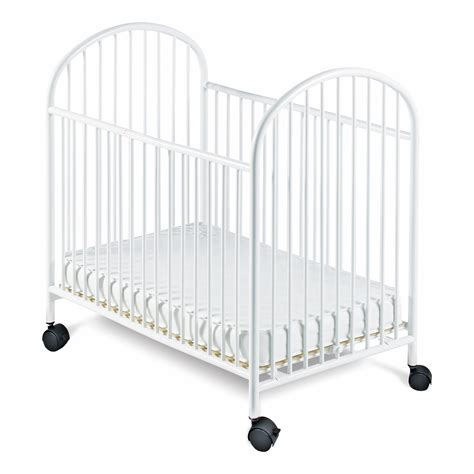 Small Crib Mattress Foundations Classico Mini Crib With Mattress Baby Baby Furniture Cribs