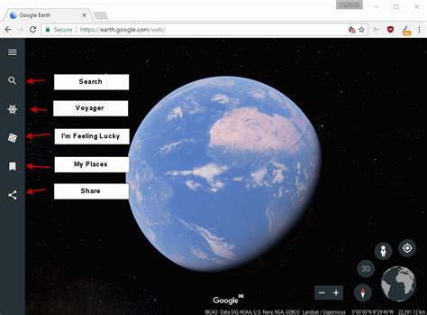 earth theme for google chrome google makes the new google earth chrome exclusive tech