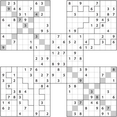 free printable triple sudoku pin samurai sudoku grid ajilbabcom portal on pinterest