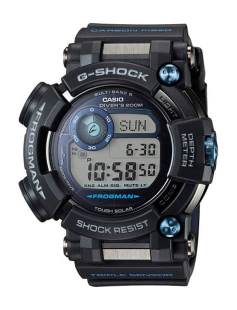 Casio G Shock Frogman Gwf D1000b 1jf With Water Depth Sensor Jdm Origi g shock frogman gwf d1000 with depth and compass g central g shock