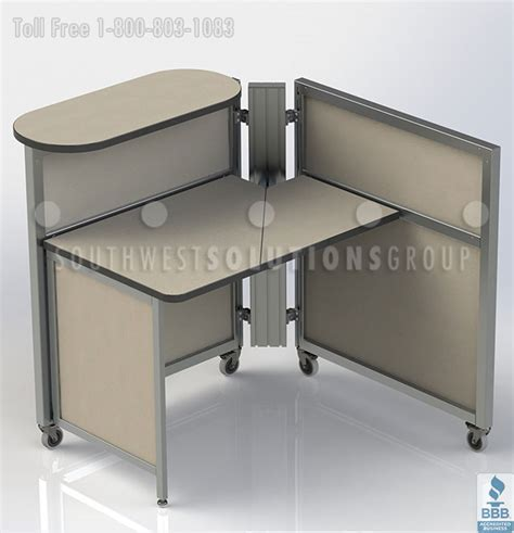 Movable Office Desks Mobile Office Workstations Benching Systems Portable Cubicles Desks Furniture