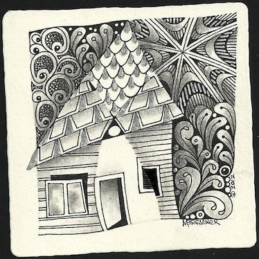 zentangle pattern fracas 113 best images about paintings houses on pinterest city