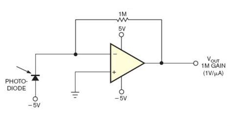 photodiode  circuit     noise high precision light sensing electrical