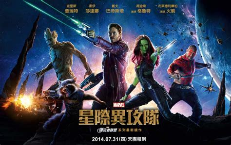 chinese film names china changed guardians of the galaxy s title and it s