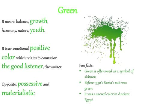 facts about the color green color psychology for advertisers and marketeers