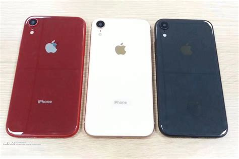 iphone 9 colors 6 1 inch iphone 9 leaks in three dazzling colors