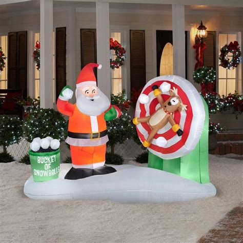 christmas yard blowups santa claus outdoor inflatables page two wikii