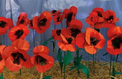 How To Make Paper Poppy Flowers - make paper poppies sewyeah