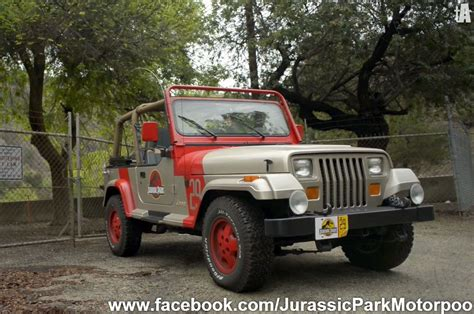jurassic jeep buffs build jurassic park jeep wrangler yj fleet