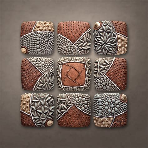 ceramic wall decorations pinwheel pattern by christopher gryder ceramic wall