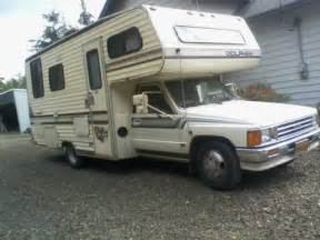 Toyota Motorhome 1988 Toyota Dolphin Motorhome For Sale In Sutherlin Or