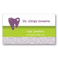 template kartu nama dokter gigi dentist business card tooth vintage beige gold