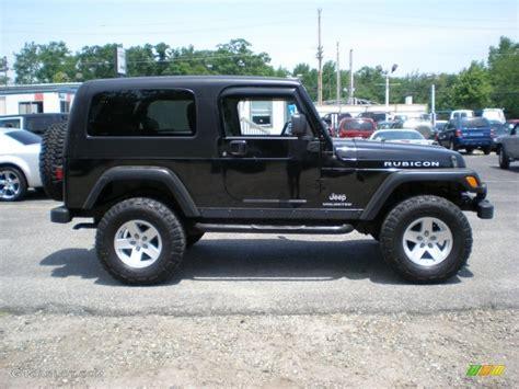 2006 Jeep Wrangler Unlimited Hardtop Black 2006 Jeep Wrangler Unlimited Rubicon 4x4 Exterior