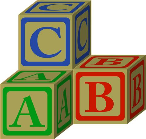 Abc Blocks abc alphabet blocks 183 free vector graphic on pixabay