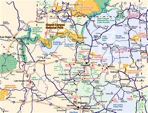 us road map arizona 4 best images of large printable map of arizona arizona