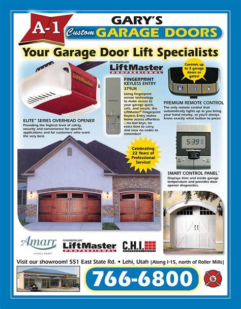 Ads Garage Doors A 1 Garage Door Yellow Page Ad 2 Graphics Llc