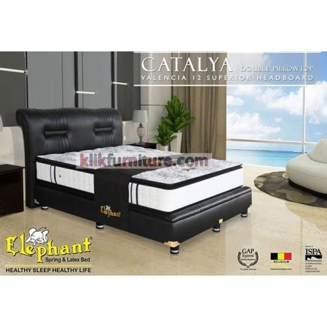 Tempat Tidur Elephant new catalya pillowtop elephant springbed 51