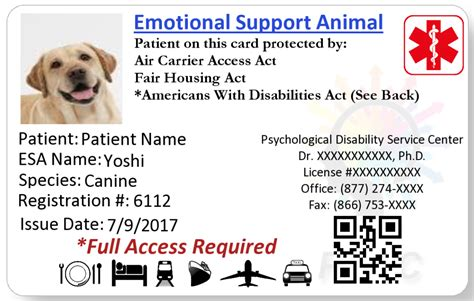 Unique Emotional Support Dog Letter How To Format A Cover Letter Emotional Support Animal Id Card Template