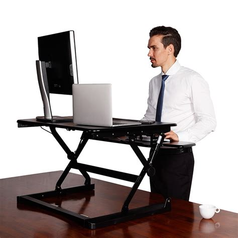 adjustable height desk top rize desk top height adjustable stand ikcon