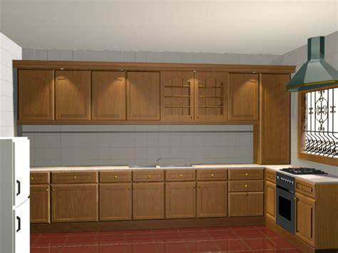 3d kitchen cabinets l kitchen design 3d model 3d studio 3ds max files free