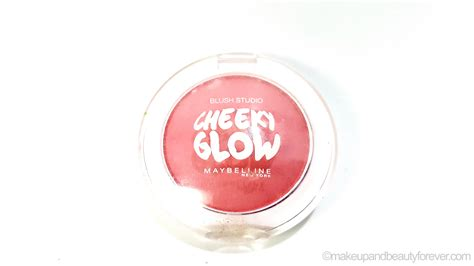 Maybelline Cheeky Glow Blush maybelline cheeky glow blush peachy sweetie review
