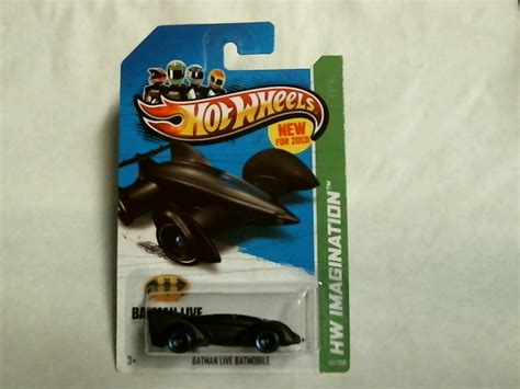 Wheels Batman Mobile Live Bnib wheels 2013 hw imagination batman live batmobile 65