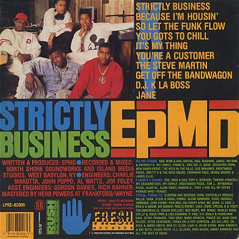 Epmd Strictly Business Vinyl - epmd strictly business lp fresh 中古レコード通販 大阪 root