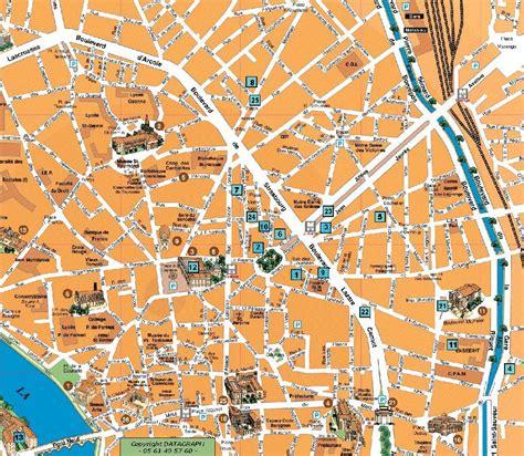 map of toulouse large toulouse maps for free and print high