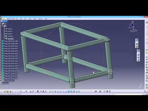 tutorial structure design catia catia v5 how to create a bent tube doovi