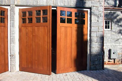 swing out door types of garage doors you can choose from