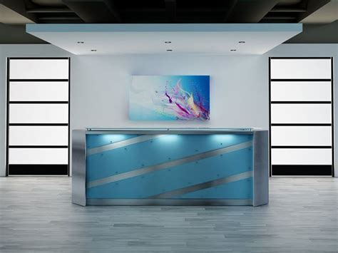 el paso modern reception desk 90 degree office concepts
