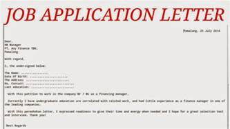 application letter sles business letters