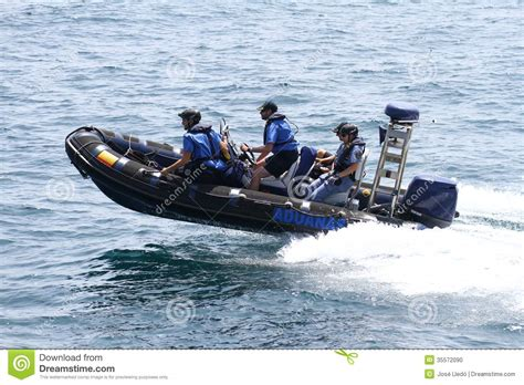 speed boat in spanish customs boats editorial image image 35572090