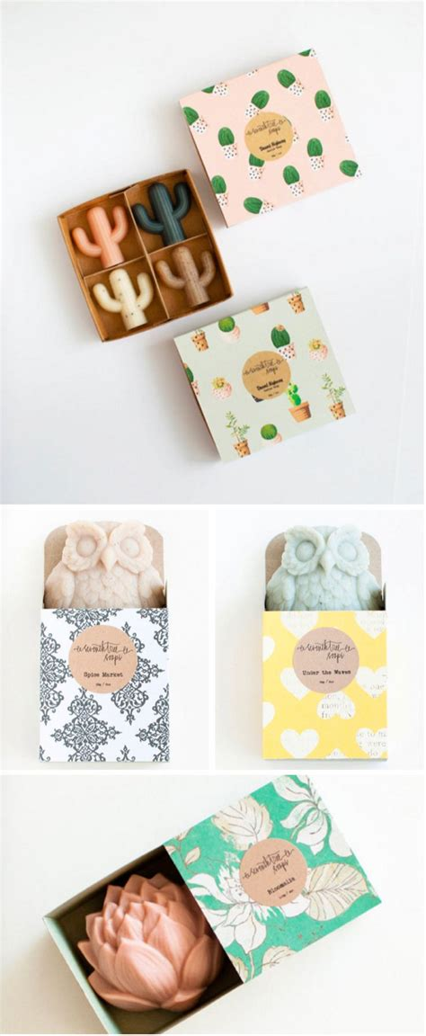Handmade Gift Packing - handmade cactus soaps by seventh tree soaps products we