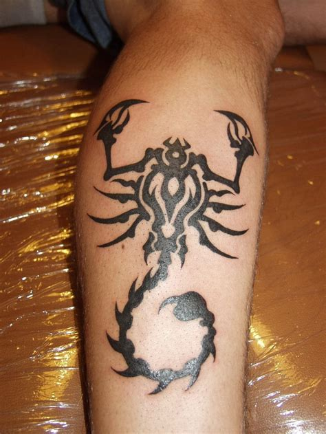 tribal scorpion tattoo meaning tribal scorpion tattoos creativefan