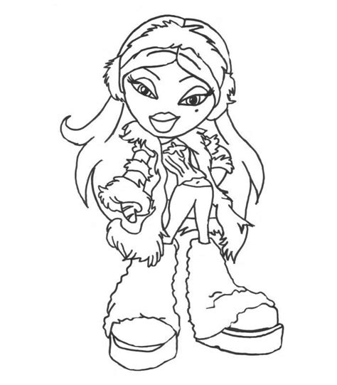 bratz coloring pages pdf bratz all together colouring pages page 2 coloring home