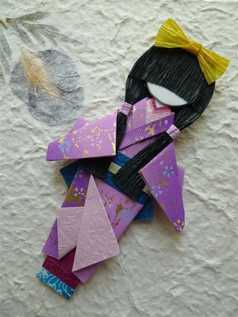 Origami Doll - 25 best ideas about japanese origami on