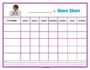 Calendar Chart Docs Doc Mcstuffins Chore Chart Free Printable