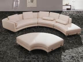 rundes sofa modern leather sectional sofa a94 leather sectionals