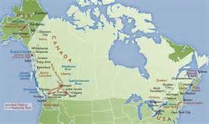 map us canada alaska united states and capitals map the