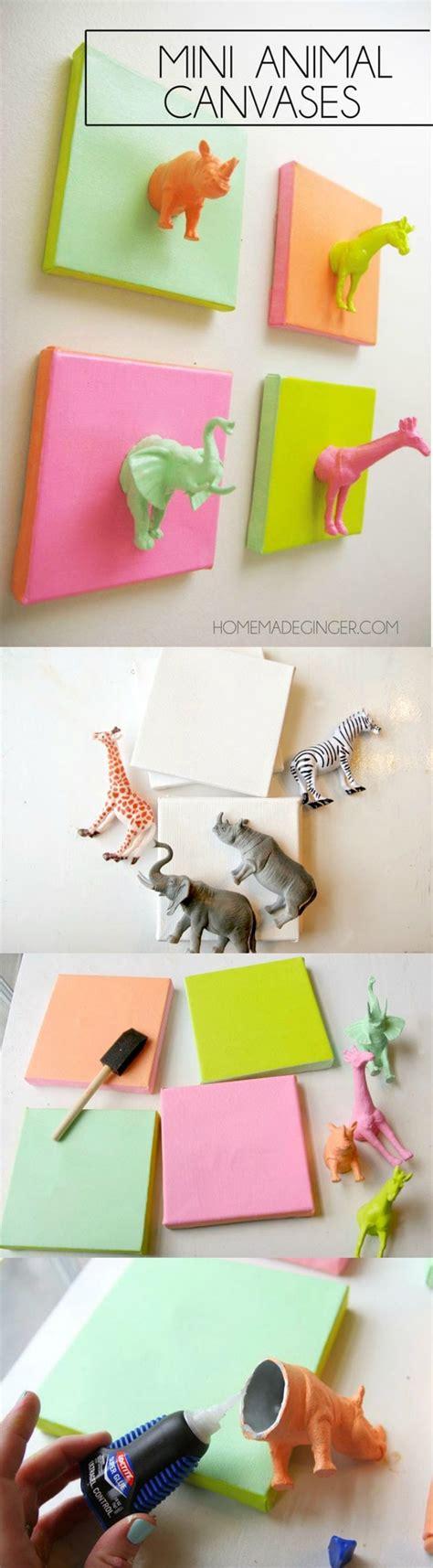 lilbrownhouse diy and crafts mini plastic animals diy canvas craft studios diy
