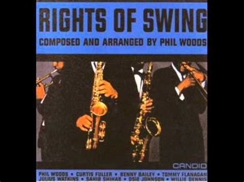 right of swing phil woods part ii ballad youtube