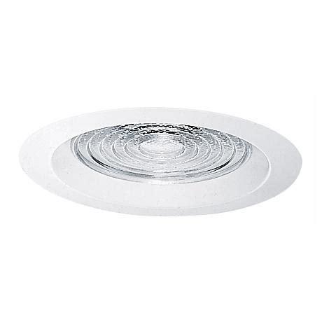 juno 6 quot line voltage clear alzak white recessed light trim